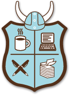 Official National Novel Writing Month crest.  Image courtsey of http://nanowrimo.org.